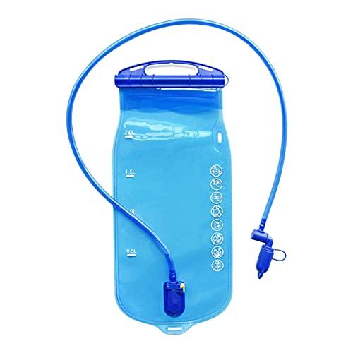 ALEOHALTER Vejiga de hidratación para mochila mochila hidratación bolsa agua vejiga al aire libre portátil Camping accesorio