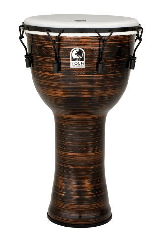 "TOCA (トカ) TF2DM-14SCB Freestyle II Djembe 14"" - Spun Copper - Synthetic Head w/Bag フリースタイル・ジャンベ ケース付"
