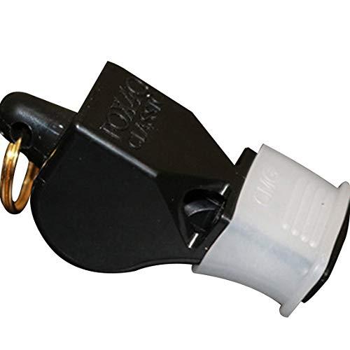 Zinniaya Silbato de plástico Profesional Silbato de Supervivencia al Aire Libre Árbitro Deportivo Silbato de Rugby de fútbol con cordón para la muñeca del Cuello