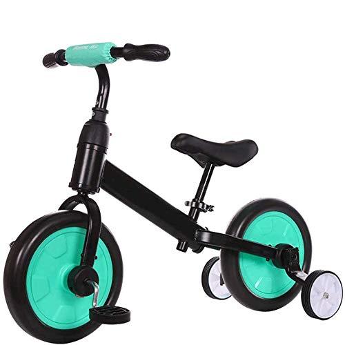 SXNYLY Dos-en-uno Equilibrio Vespa, la Rueda del niño, Polea, Bici de la Vespa, Apto for niños de 1-8, Niño pequeño Motos, Coches Primero Seguro de sí Mismo, cumpleaños