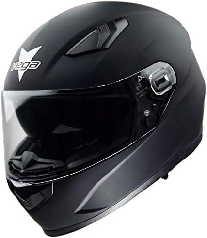 Vega Helmets Ultra Max Street Motorcycle Helmet w Sunshield Bluetooth Compat Unisex Adult Full product image