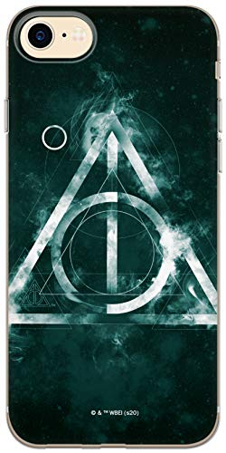 Custodia originale e ufficiale di Harry Potter, per iPhone 7, iPhone 8, iPhone SE2, cover in plastica TPU silicone protegge da urti e graffi