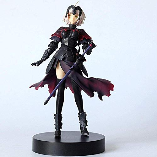 KIJIGHG Escultura de Anime Avenger Juana de Arco Modelo de Personaje de accin Estatua Decoracin Infantil Juguete PVC Figura de Anime Figuras de accin Modelo 18cm