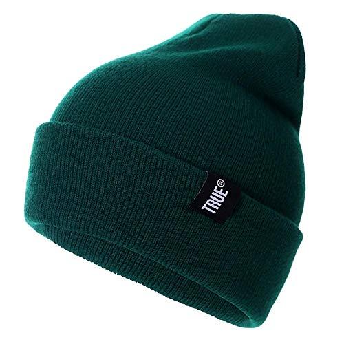 HSJK 10 Colors Casual Beanies For Men Women Fashion Knitted Winter Hat Solid Hip-Hop Skullies Hat Bonnet Unisex Cap