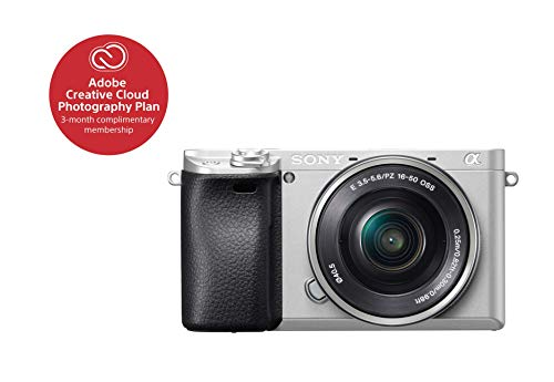 Sony Alpha a6300 ILCE 6300L/S Body with 3in LCD & 16-50mm Power Zoom Lens -...