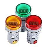 AC Voltage Display, DROK 3pcs Digital LED Display...
