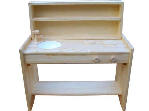 木遊舎 おままごとキッチン(白木)