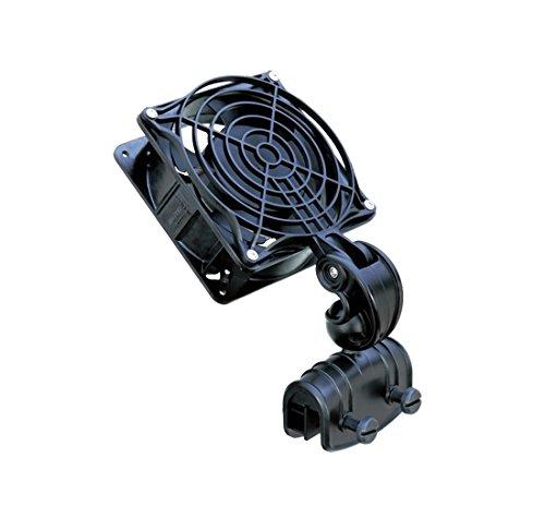 takestop® FS120 Ventilateur de refroidissement pour aquarium 15 W 0,14 A 50/60 Hz 172 x 120 x 120 mm pour eau eau eau eau eau eau douce marine 360 °