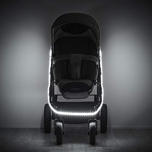 Kindchen Kinderwagenbeleuchtung 2.0, Kinderwagenlicht, Bollerwagen-Beleuchtung, LED, extra helles Licht