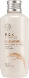 The Face Shop Rice & Ceramide Moisturizing Emulsion with Rice Extracts suits for brightening |All Skin Types|Paraben Free,150ml