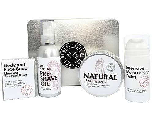Executive Shaving Naturel Cadeau de Noël Conserve