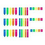 Segnapagina,Segnapagina Adesivi 900 pezzi Colorato Scrivibile Etichette per Studenti Lavor...