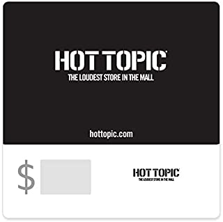 Hot Topic Gift Cards - E-mail Delivery