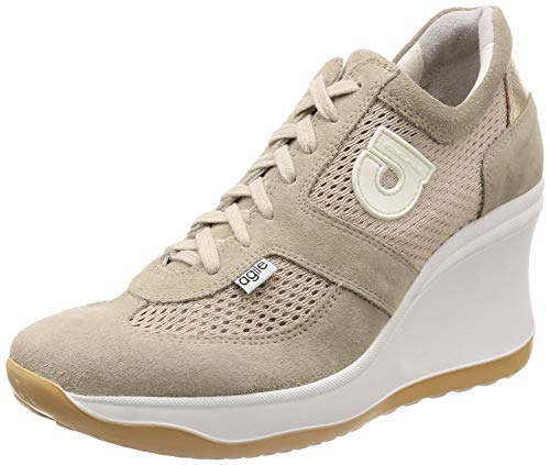 AGILE BY RUCOLINE Sneakers Donna- 1800 A Chambers Soft Beige TG. 39
