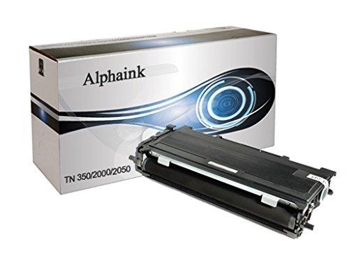 Toner Alphaink compatibile con Brother TN-2000, per stampanti Brother DCP-7010 7020 7025 Fax-2820 2825 2920 HL-2020 2030 2032 2040 2070 Intellifax-282