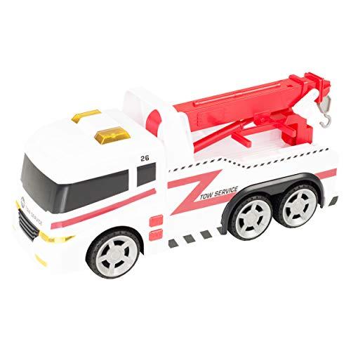 HTI Camión Grúa 42 cm. con Luz y Sonidos Teamsterz (1416395)