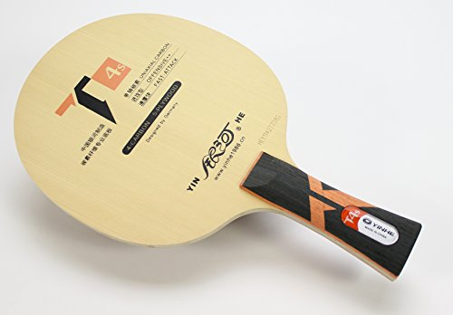 Lowest Prices! YINHE T-4s Table Tennis Blade, Handle-Flared (T-4 Upgrade)