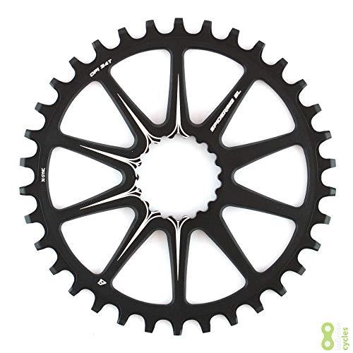 Cannondale Ai X-Sync Spidering Fahrrad Kettenblatt 10 Arm 34 Zähne schwarz