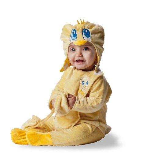 Looney Tunes D873-002 - Disfraz de Piolín para bebé, talla 18 meses - 2 años (D873-002)