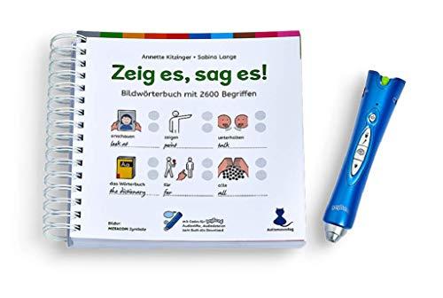 Franklin Electronics Anybook Reader Bundle: Toon het, zeg het! / Starterset met Anybook audiopen en beeldwoordenboek/met 2600 termen, METACOM-symbolen en audio-opnamen