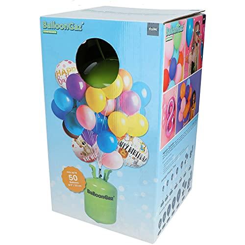Helium Ballongas für 50 Ballons