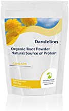 Dandelion Root Powder 250mg Natural Source of Protein Health Food Supplement Vitamins 30 Capsules Nutrition Supplements HEALTHY MOOD Estimated Price : £ 2,89