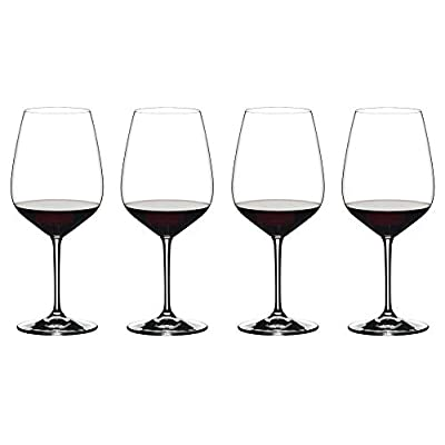Riedel 4411/0 Extreme Wine Glasses, Set of 4, Clear
