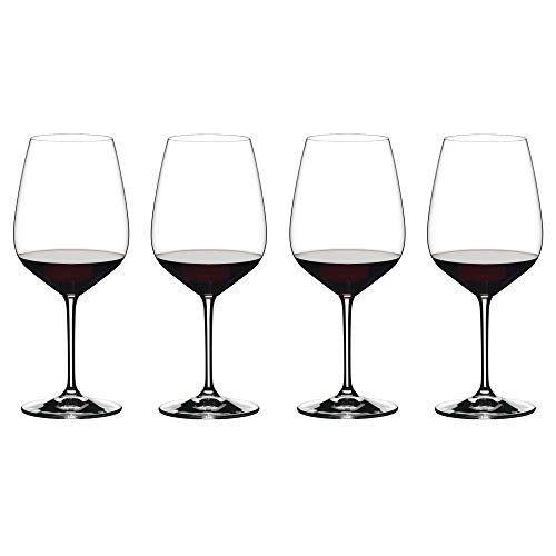 Riedel Extreme Cabernet Wine Glasses, Set of 4, Clear