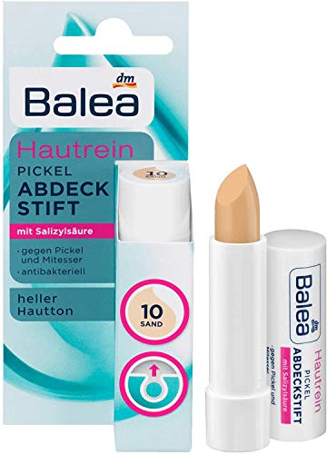 Balea Soft & Clear Abdeckstift Fb. 10, 1 x 4,5 g