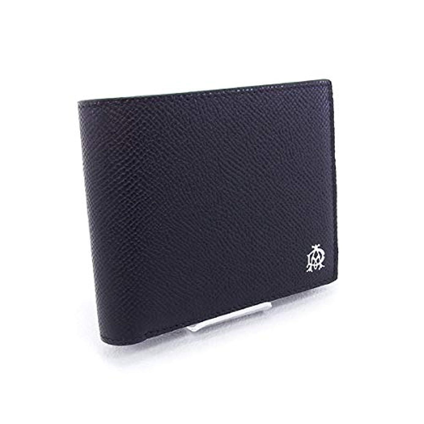 今精通した咽頭[ダンヒル] 財布 CADOGAN 折財布 ブラック (L2AC32A BK) [並行輸入品]