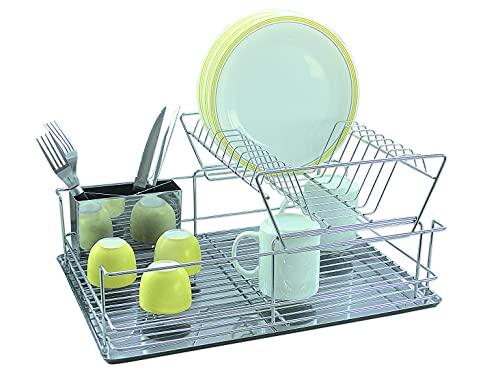 Jocca - Escurreplatos para platos y vasos de cocina | Escurre Vajilla | Organizador Cocina | 47*32*22 cm