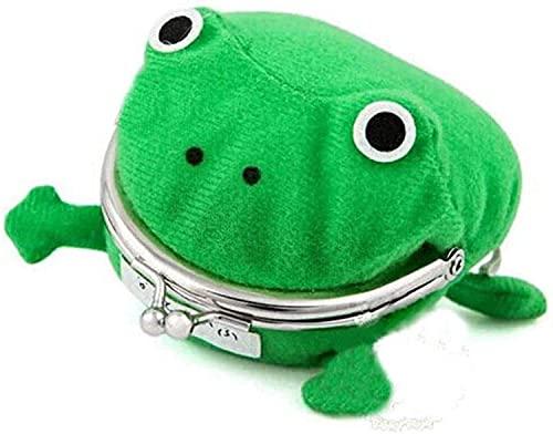 Stuffed Animals-1 bolsa de dinero de anime, accesorios de utilería para juegos de rol, monedero con forma de rana, monedero lindo, monedero