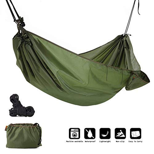 ZZPEO Multifunction Camping Hammock, 4 In 1 Outdoor Camping Hammock - Waterproof Hammock Rain Fly Tent Tarp,Rain Poncho