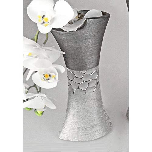 Formano Vase Silber-grau 13 x 30 cm 739872