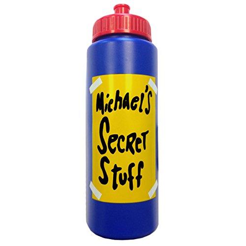 Michael's Secret Stuff Water Bottle