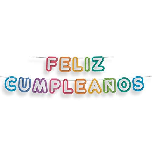 Guirnalda Feliz Cumpleaños Colores