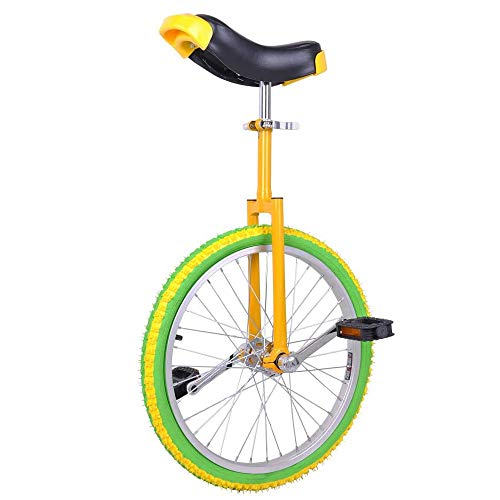 Why Should You Buy YANGMAN-L Wheel Unicycle, High-Strength Manganese Steel Fork Adjustable Seat Alum...