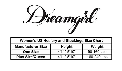Dreamgirl Women's Moscow Sheer Dress, One Size Queen,