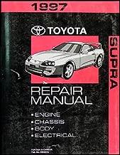 1997 Toyota Supra Repair Shop Manual Original