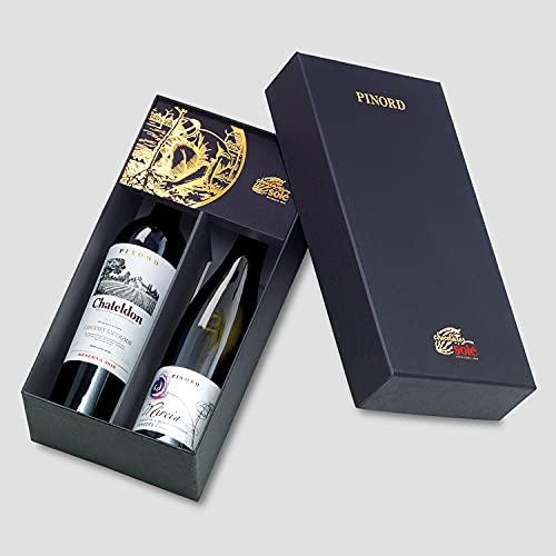 Smartbox - Caja Regalo - 2 Botellas de Vino de Las Bodegas Pinord con Chocolates a Domicilio - Ideas Regalos Originales