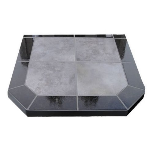 Chimney 49210 Night Shadows Tile Double Cut Stove Board- 40 in. X 40 in