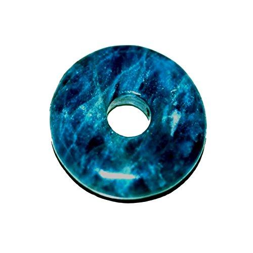 Apatit A 1 Donut ca.40 mm Durchmesser die Bohrung ist ca. 8 mm Donut Stärke 6 mm er Hat 18 g.
