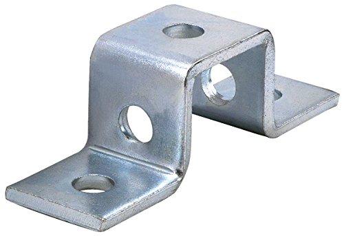 Phoenix U11 0000EG 5 Hole'U' Shaped Connector Bracket for All 1-5/8' Strut Channel