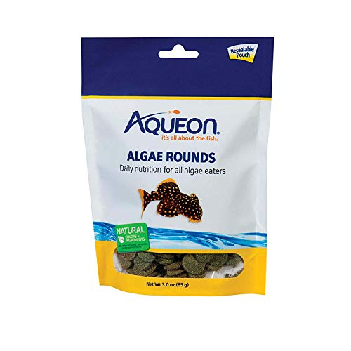 Aqueon Algae Rounds Fish Food