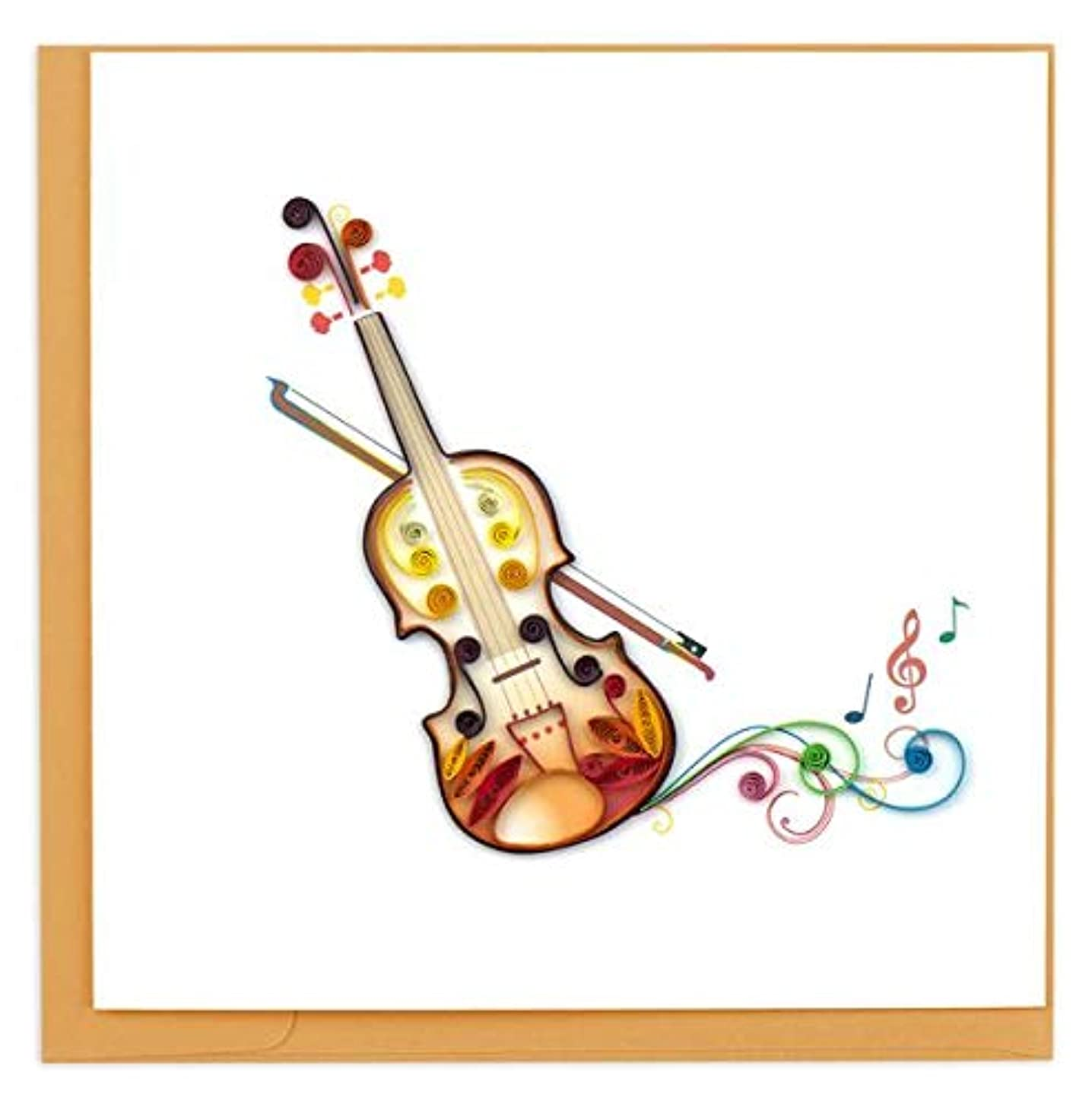 Quilling Card 3D Greeting Cards (Trumpet) (Violin(BL1160))