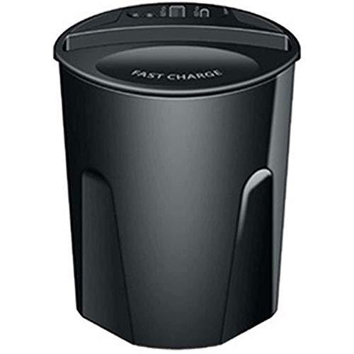 Fransande - Soporte de taza de cargador inalámbrico para coche X9 de 10 W con puerto de salida USB para 11 Pro, Galaxy S20, S10, S10 y Plus
