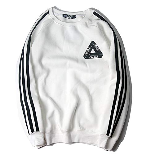 Fashion Hoodie Men Women|Triangle Three-Bar Sports Windbreaker Sweater