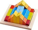 HABA - Jouet en Bois - Jeu d'Assemblage 3D Mosaïque Nordic - 2 Ans et Plus - Réf 304854