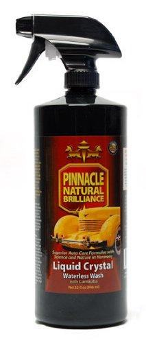 Pinnacle Liquid Crystal Waterless Wash with Carnauba 32 oz