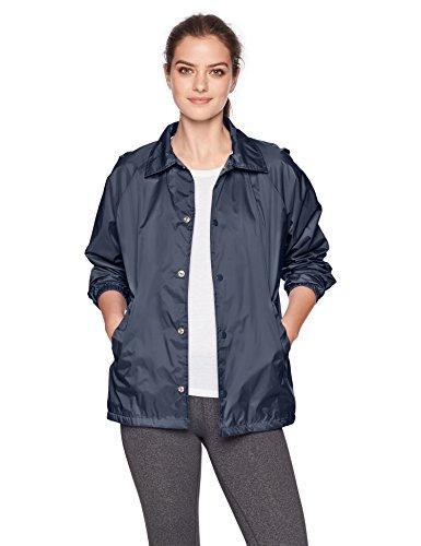 Augusta Sportswear Men's Nylon Coach's Jacket/Lined, Navy, Small